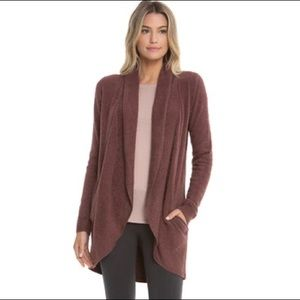 Barefoot Dreams Cozychic light open front cardigan